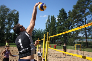 Beachvolleyball Mix